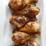 30 Minute Garlic Broiled Chicken Legs