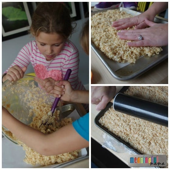 Christmas Rice Krispies Treats Ideas - Gifts