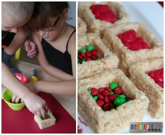 Christmas Rice Krispies Treats Presents