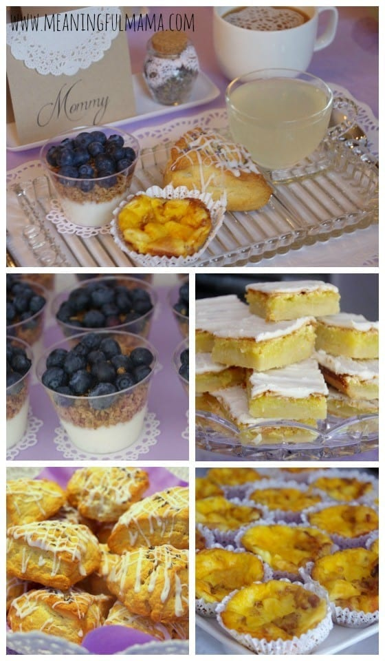 Food For a First Birthday Party Brunch
