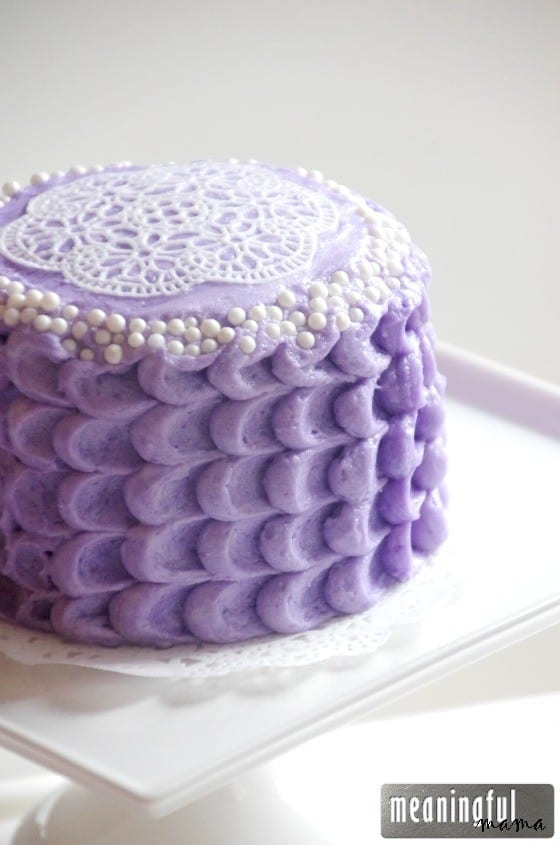 Lavender and Lace Birthday Cake Jul 11, 2015, 1-16 PM