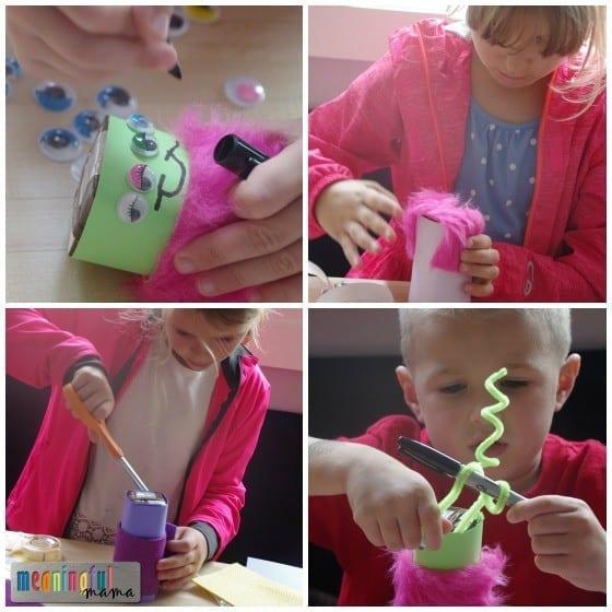 Milk Monsters - Halloween Drink Idea for Kids