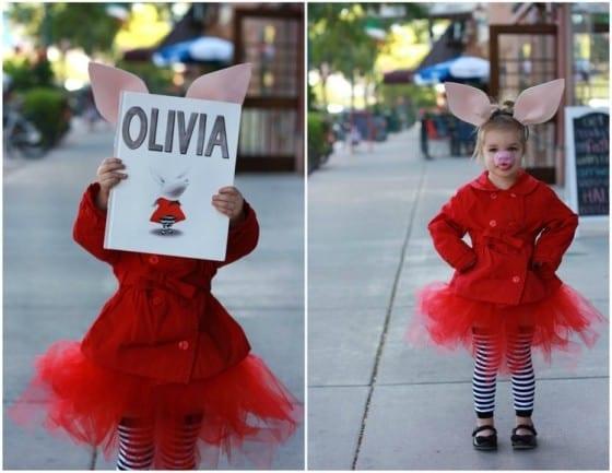 Olivia Halloween Costume - Book Characters