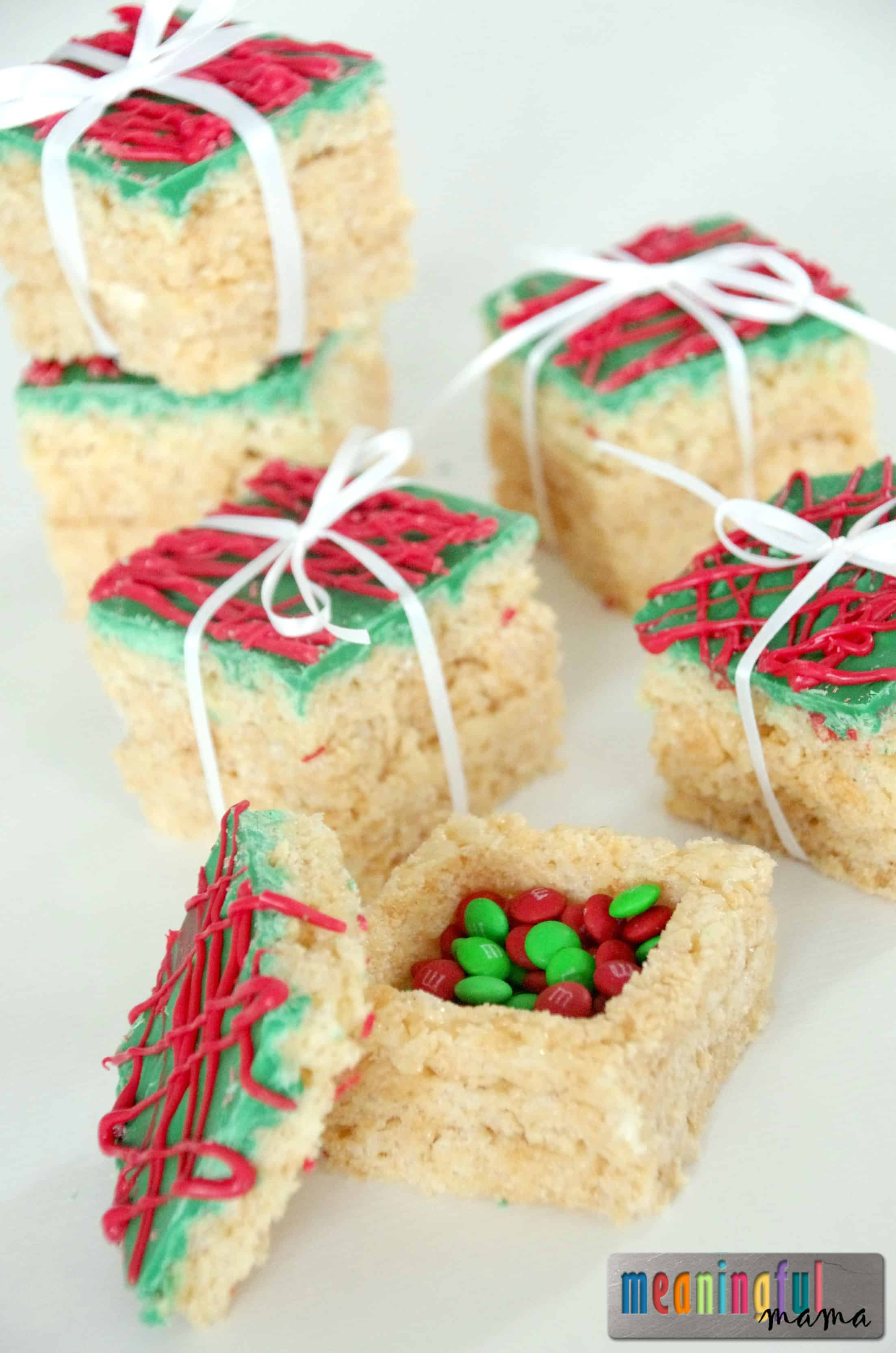 Rice Krispies Treats Presents with a Surprise