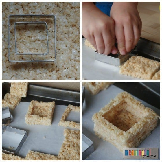 Rice Krispies Treats Christmas Gifts with a Surprise