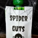 Spider Guts Squeezable Applesauce Pouches
