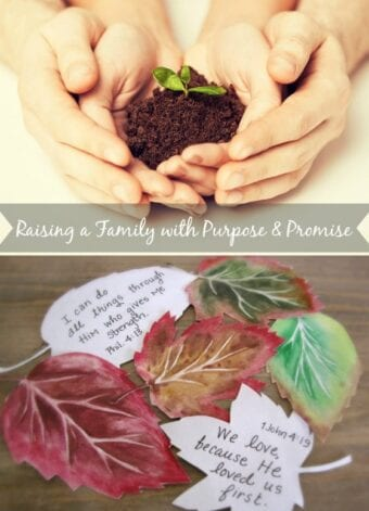 Raising a Family with Purpose and Promise