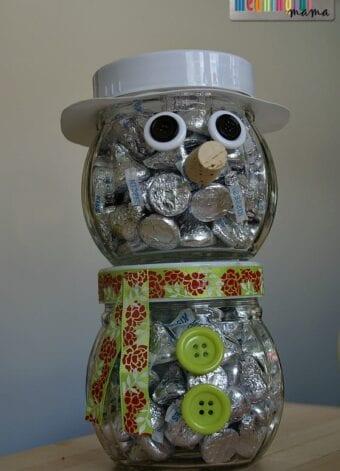 Snowman Chocolate Gift Idea
