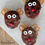 Reindeer Ice Cream Sandwiches