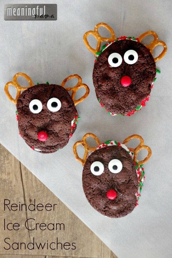 Reindeer Ice Cream Sandwich Cookies Nov 6, 2015, 1-038