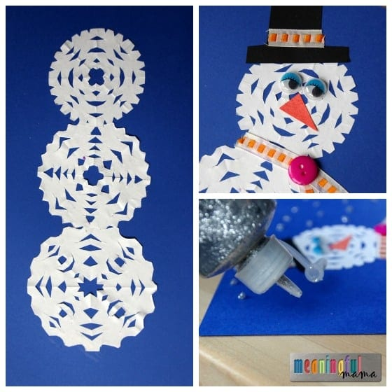 Snowflake Craft Ideas For Kids Part - 35: Meaningful Mama