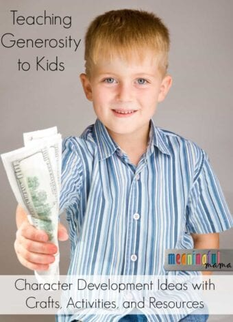 Teaching Kids How to Be Generous