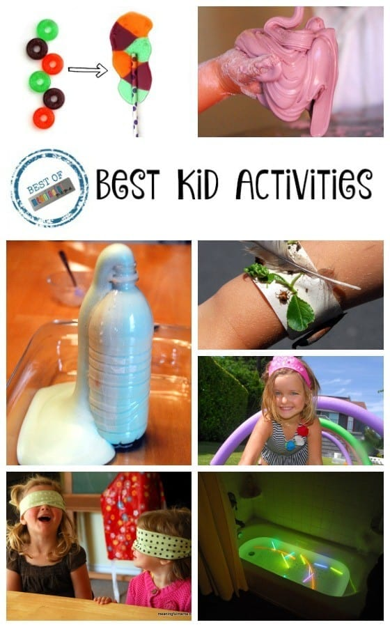 Best Kid Activities for Toddlers, Preschoolers and Beyond