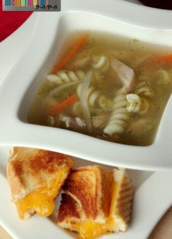 Amazing Homemade Chicken Noodle Soup