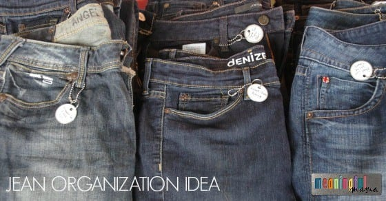 Jean Organization Idea - Life Hack