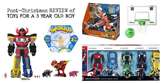 Review of 5 Year old Boy Toys