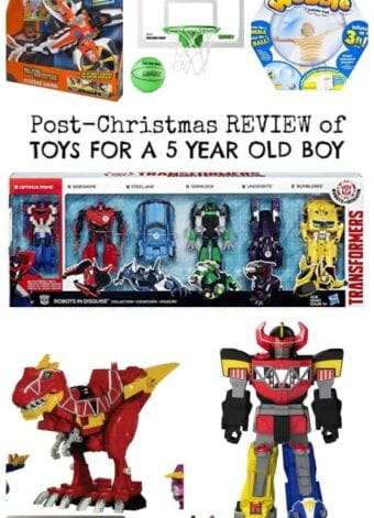 Post-Christmas Review of Boy Toys