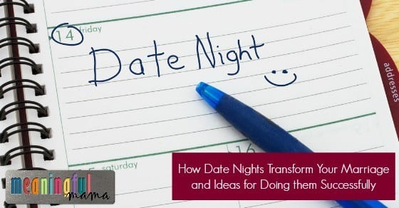 Transforming Your Marriage Through Dates Nights - Facts, Date Ideas and Practical Application