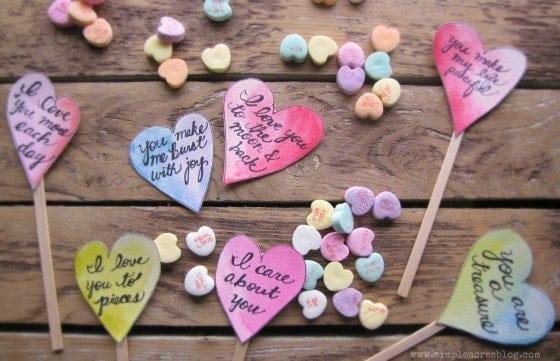 inspired valentines