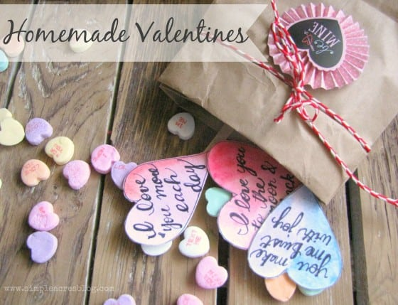 valentine crafts homemade