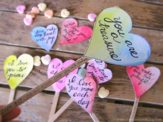 valentine inspired craft