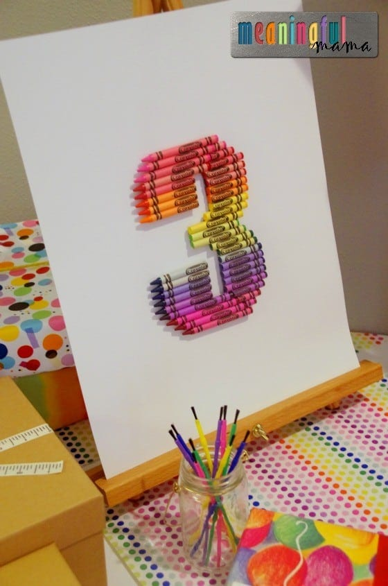 -Art Birthday Party