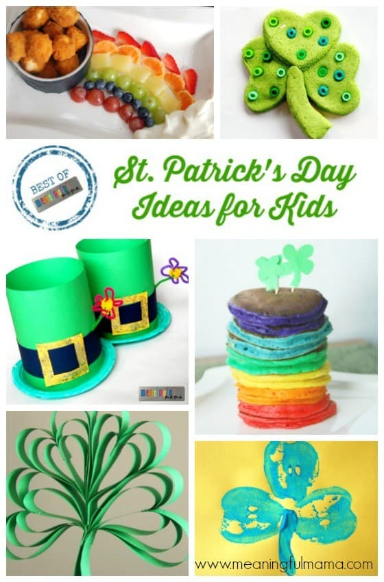 Best St. Patrick's Day Ideas for Kids - Food & Crafts