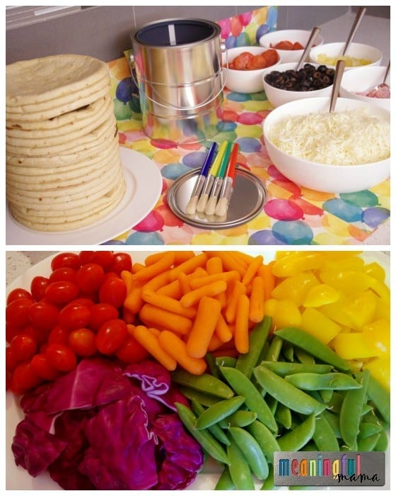 Food Ideas for a Paint Party