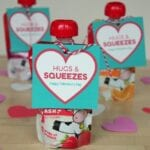 Hugs and Squeezes Valentine's Day Classroom Party Food