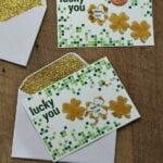 St. Patrick's Day DIY Scratch off Ticket for Kids