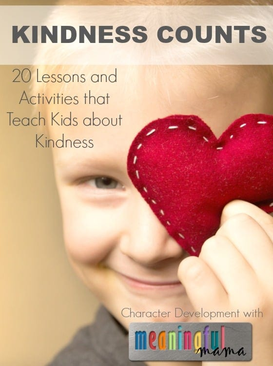character building on kindness