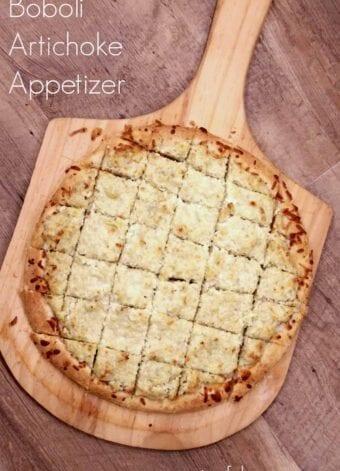 Boboli Artichoke Appetizer Recipe
