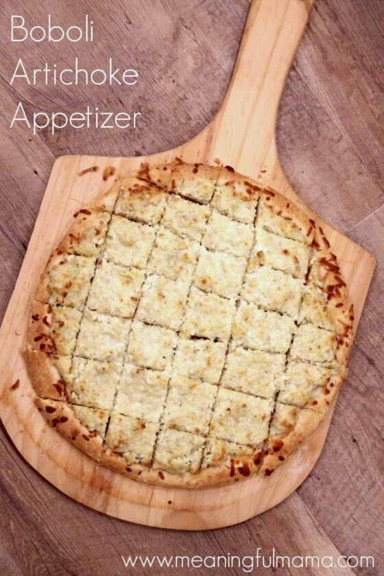 Boboli Artichoke Appetizer Dec 19, 2015, 5-040