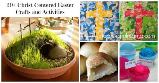 Christian Easter Crafts and Activities for Kids