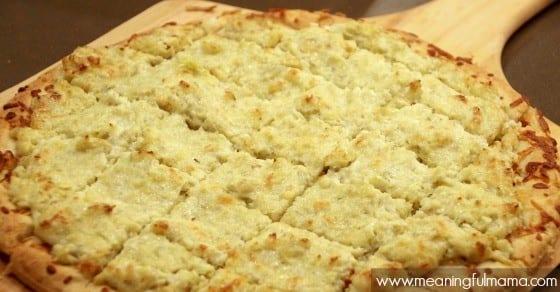 Easy Appetizer Recipe - Boboli Artichoke Appetizer