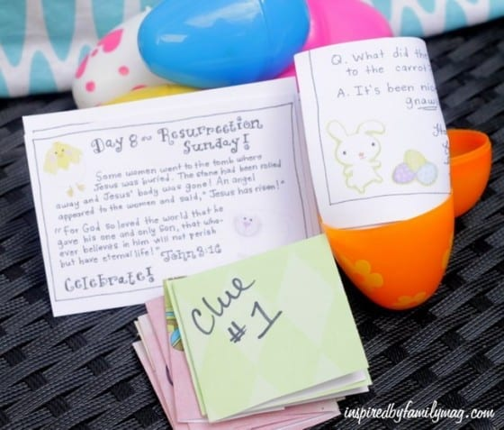 Easter Countdown for Kids