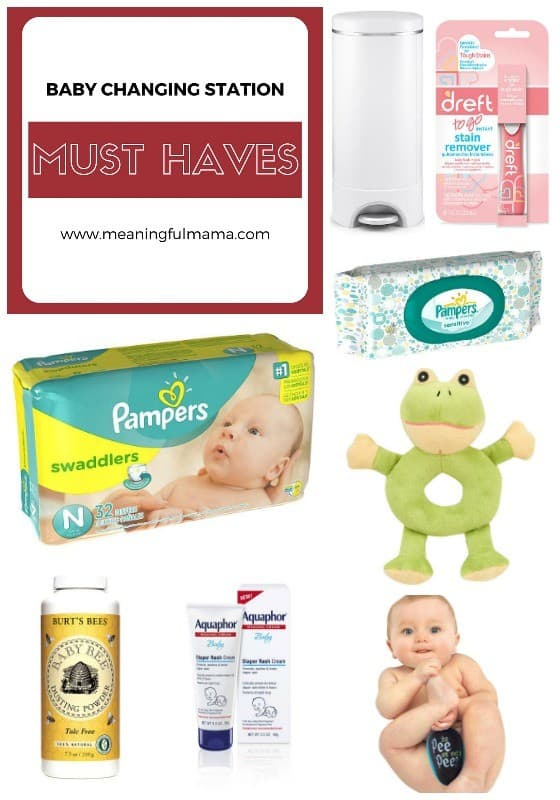 Baby Changing Station Must Haves