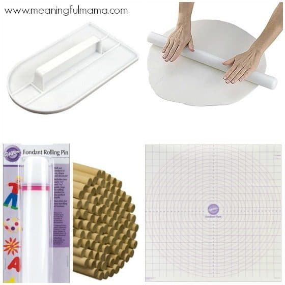 Must Have Fondant Tools for Cake Decorating