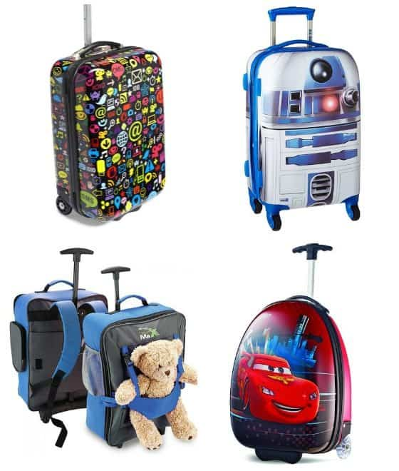 Luggage Suitcase for Boys Kids