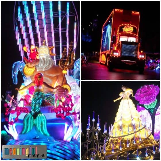 Paint the Night Parade Tips Disneyland