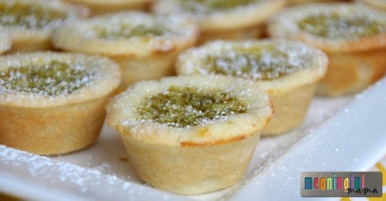 Key Lime Tartlet Recipe