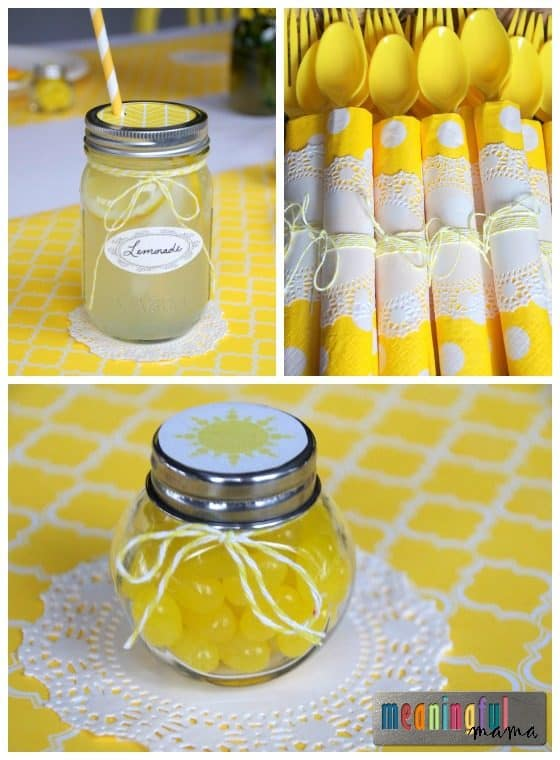 Sunshine Birthday Party Decoration Ideas