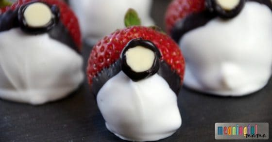 Chocolate Covered Strawberries for Pokemon Go