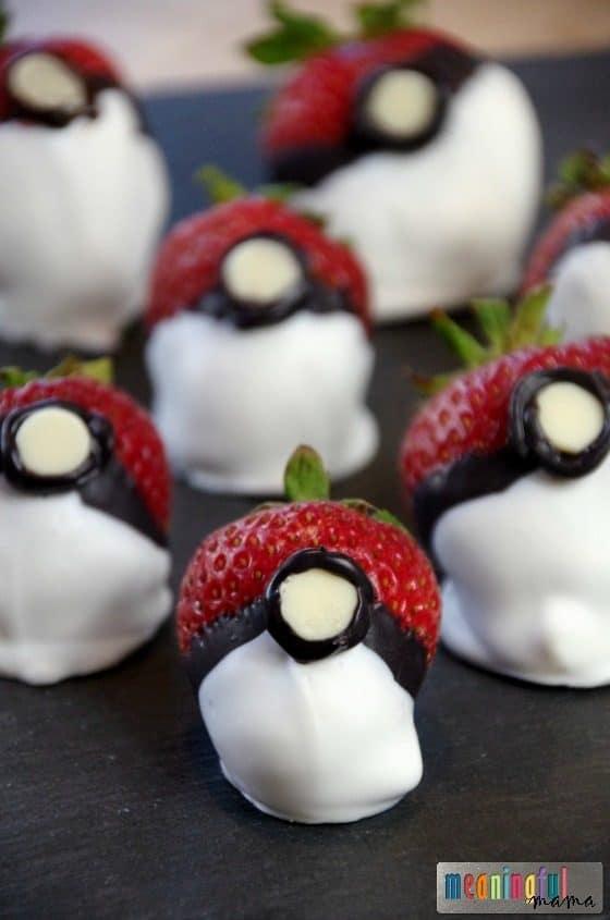 Chocolate Covered Strawberry Pokemon Go Balls Jul 26, 2016, 4-031