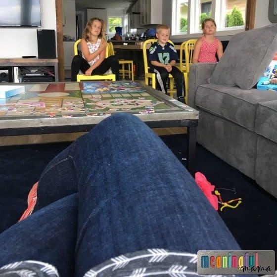 How to Teach Kids to Sit Still