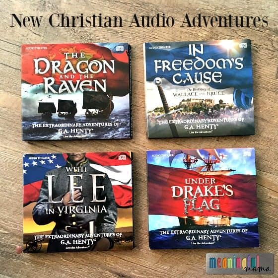 New Christian Audio Adventures Teach Courage