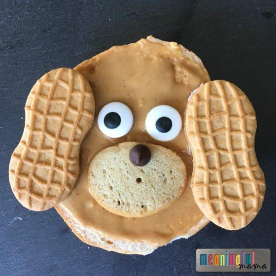 bagel-breakfast-ideas-for-kids-puppy