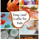 Easy Fall Leaf Crafts for Kids