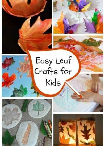 Easy Fall Leaf Crafts for Kids