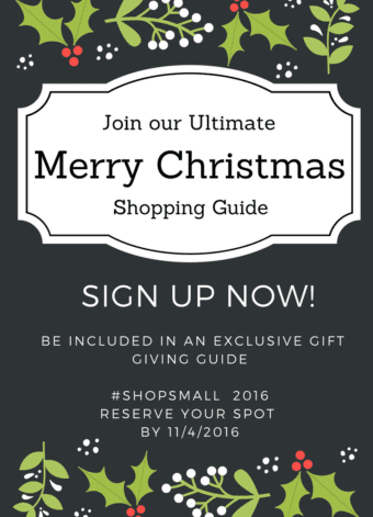 Exclusive Christmas Shopping Guide